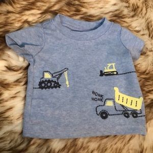 Newborn trucks tee EUC